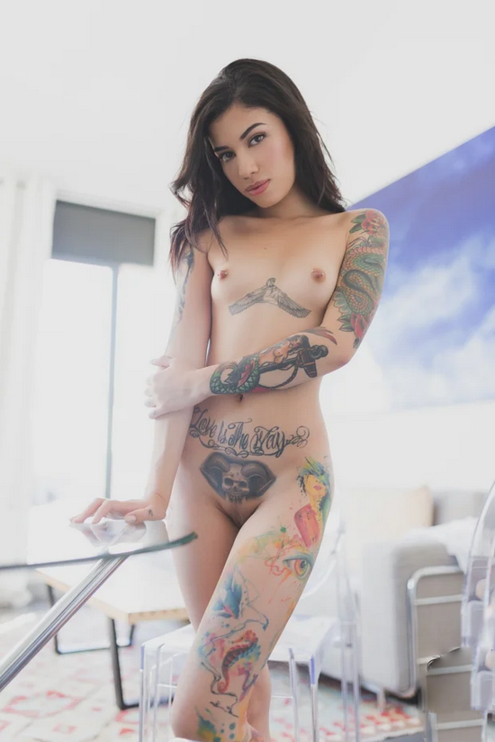 Sexy Tattoo Models